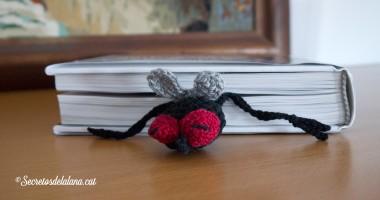 amigurumi punto de libro mosca