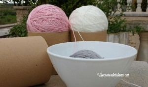 Secretos de la lana horizontal ovillar