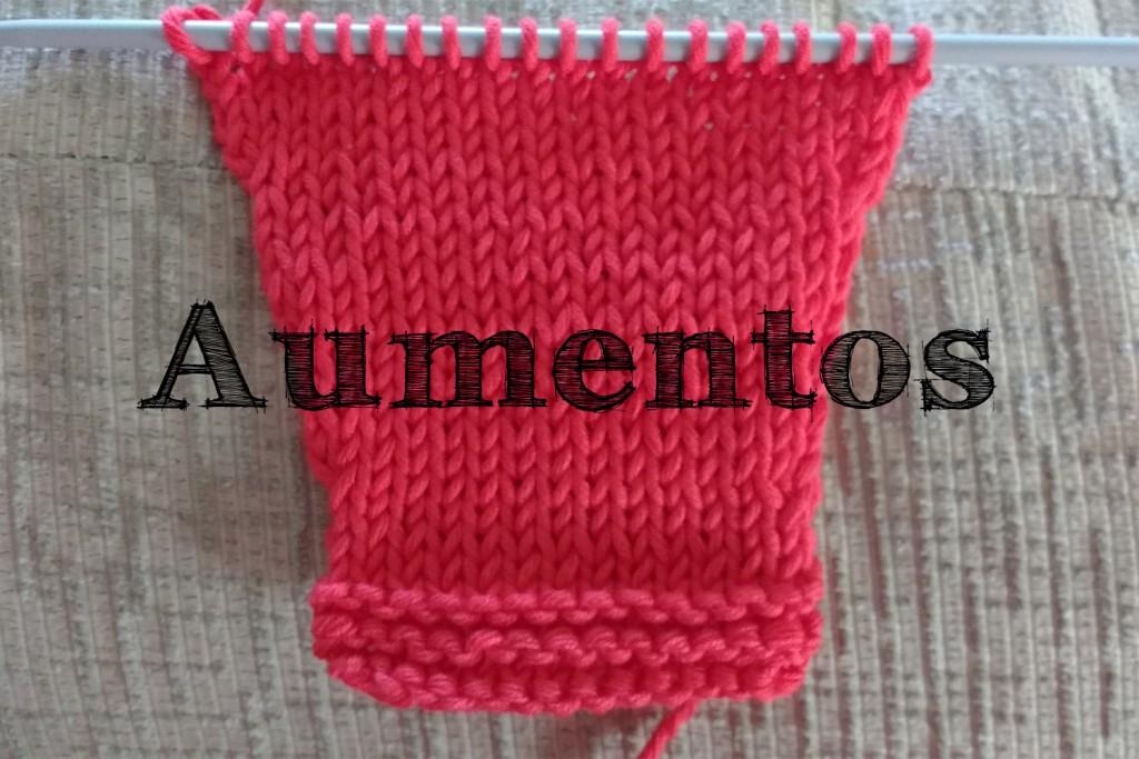 secretos de la lana como hacer aumentos tejer