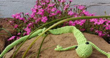 Free pattern Ravelry: Gecko pattern by Ellie Skene   200x380